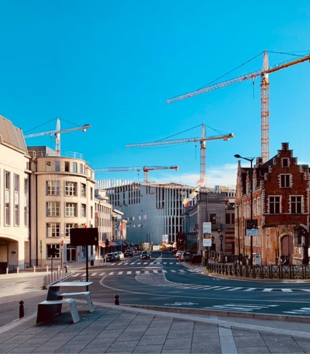 city construction view